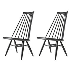 "Pair of ""Mademoiselle"" Lounge Chairs by Ilmari Tapiovaara for Asko"