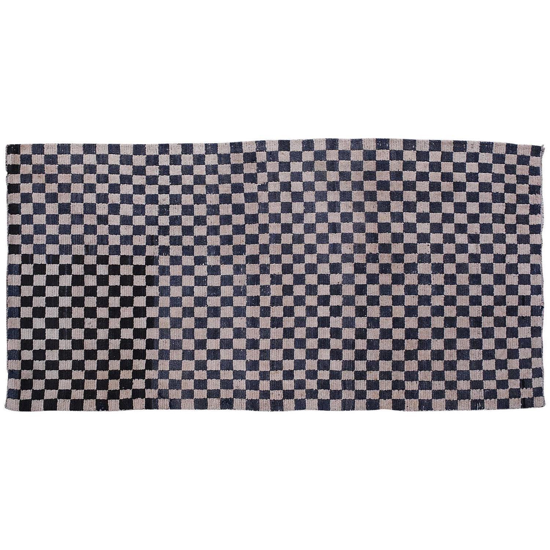 Antique Chequerboard Scatter Rug Tibetan Khaden Modernist Checker Board At  1stdibs