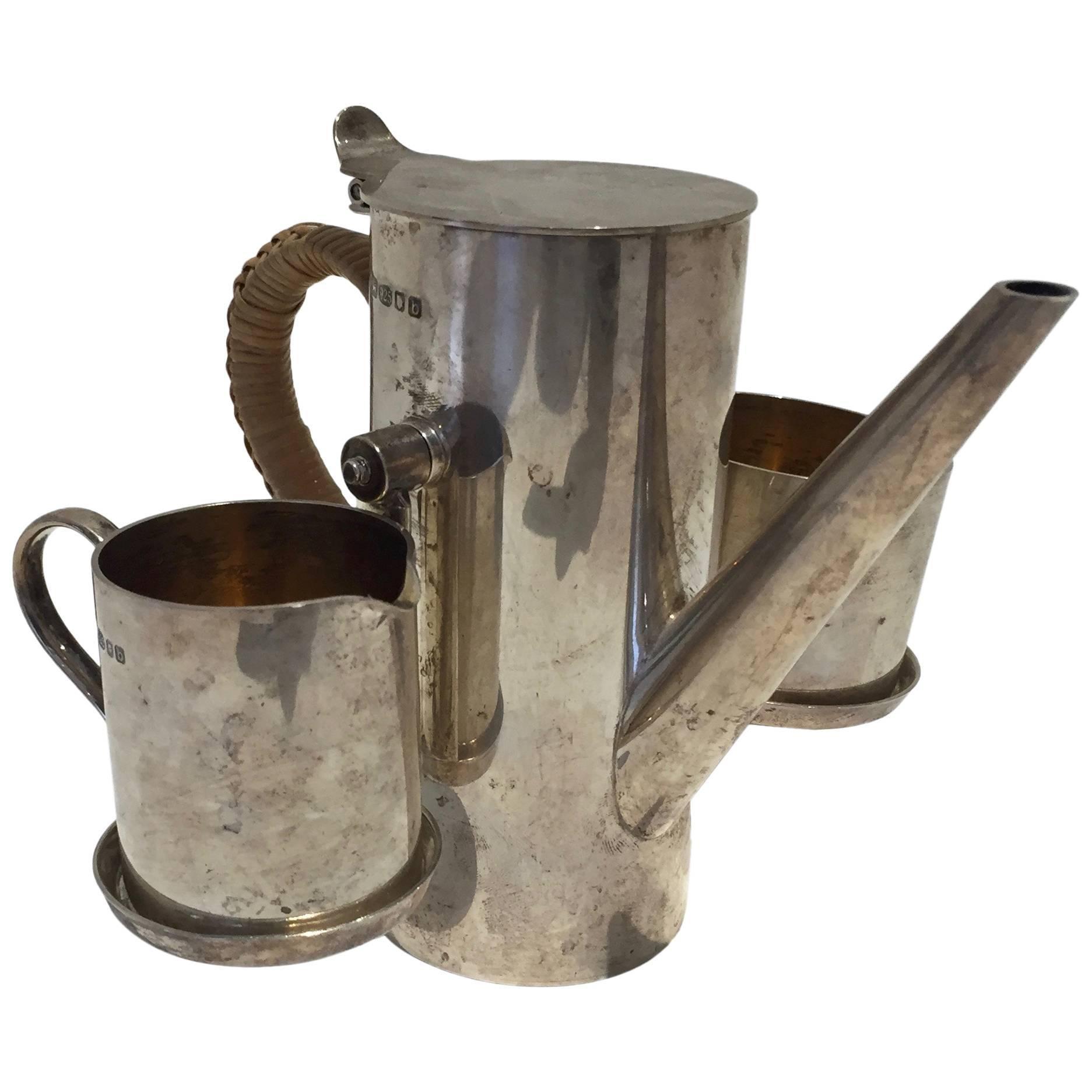 Sterling Demitasse Coffee Service by Asprey