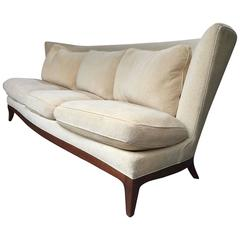 Dunbar Wingback Sofa by Edward Wormley