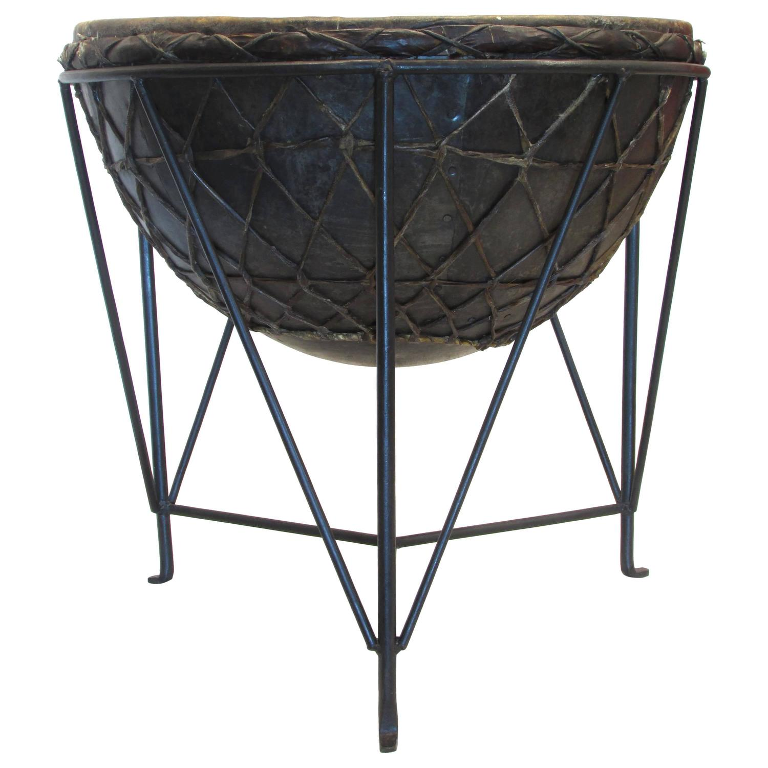 Drum table at 1stdibs for Table table table
