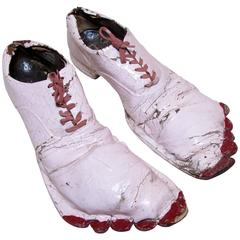 Big Bare Feet Clown Shoes
