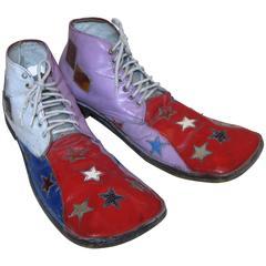 Long Toe Hobo Clown Shoes