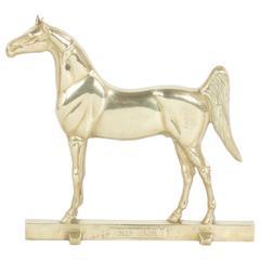Brass Horse Door Stop