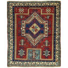 Outstanding Kazak Prayer Rug