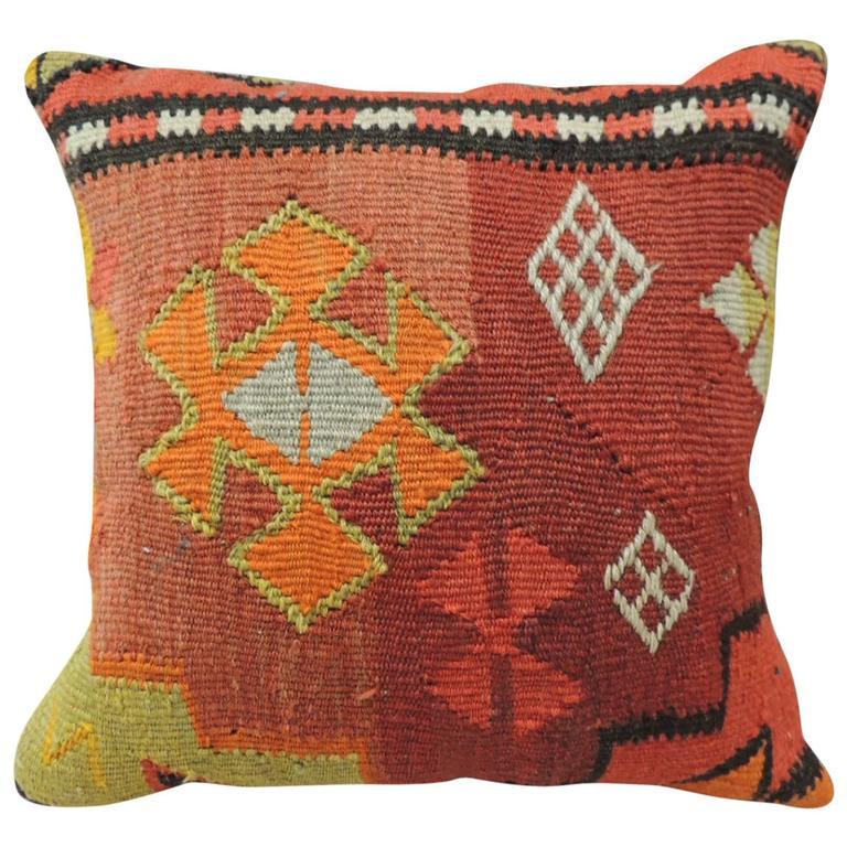 Vintage Petite Kilim Pillow At 1stdibs