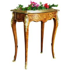 Edwards & Roberts Inlaid Plant Stand or Jardiniere