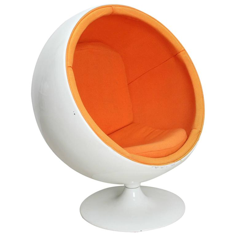 ball chair for kids by eero aarnio ed adelta 1963 for sale at 1stdibs. Black Bedroom Furniture Sets. Home Design Ideas