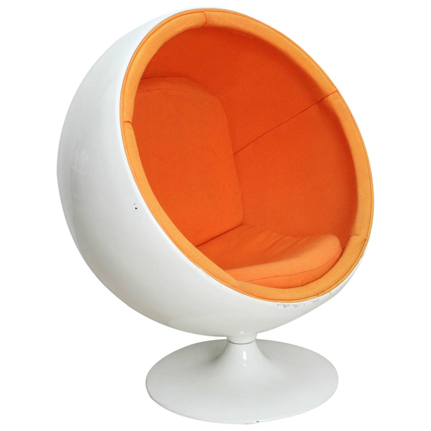 ball chair for kids by eero aarnio ed adelta 1963 for. Black Bedroom Furniture Sets. Home Design Ideas