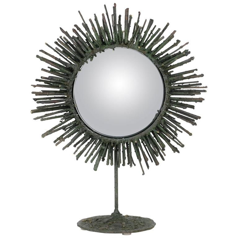 """Sun, 2015"" Mirror by James Anthony Bearden"