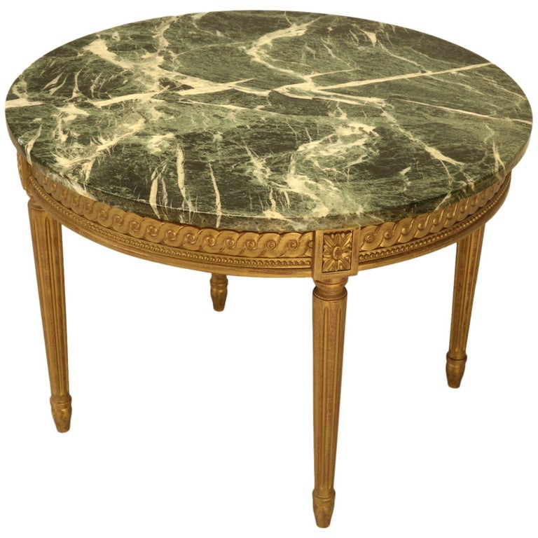 French Louis XVI Style Coffee Table For Sale