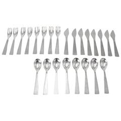 Gio Ponti Flatware for Luxury Store De Bijenkorf