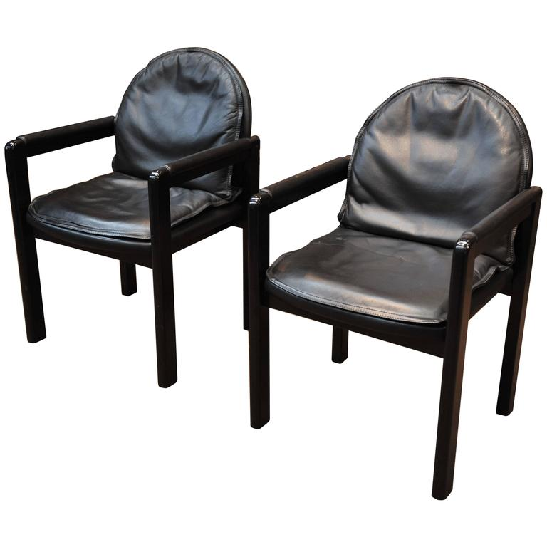 Design Leather Armchairs by Bulo