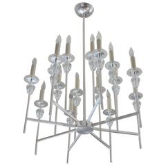 Tommi Parzinger Style Chandelier