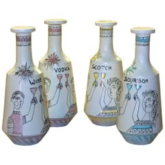 Raymor Italy Decanters