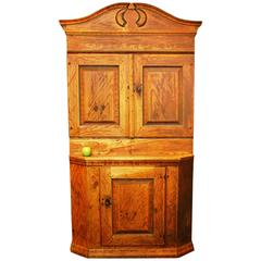 Swedish Wedding Hutch in Original Condition, Anno, 1823
