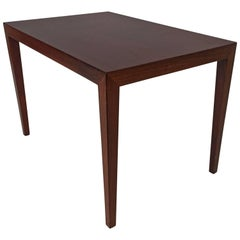Severin Hansen for Haslev Rosewood Table Illums Bolighus