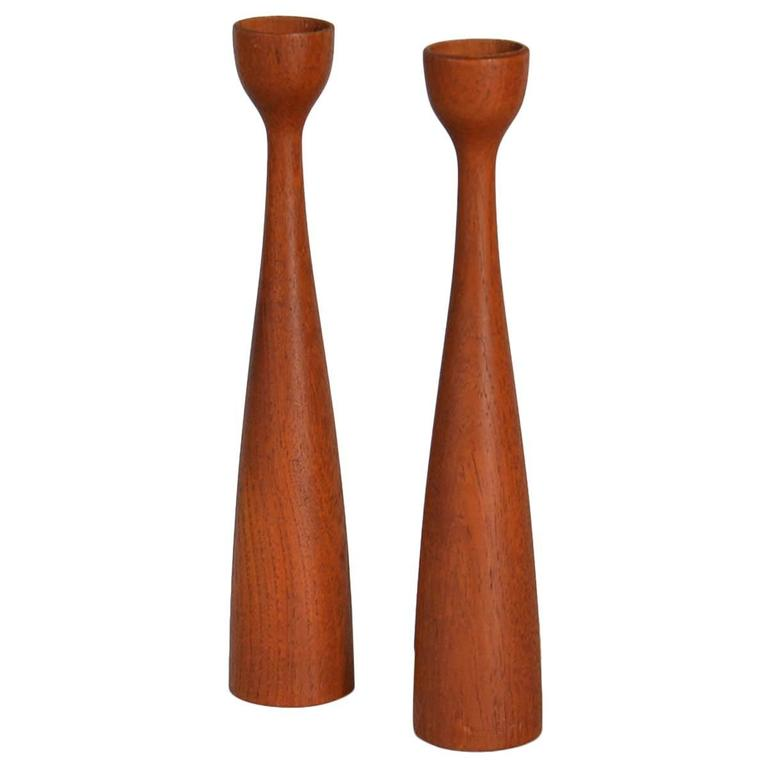 Cone Shaped Candleholders at 1stdibs