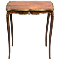French Side Table Napoleon III, France circa 1890