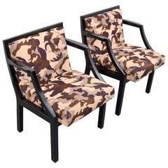 Pair of Edward Wormley Armchairs for Dunbar
