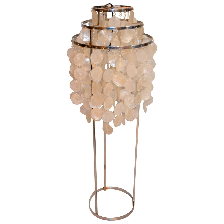 1970s verner panton floor lamp at 1stdibs for 1970s floor lamps