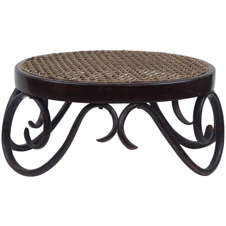 Thonet, 1904 Bentwood Foot Stool