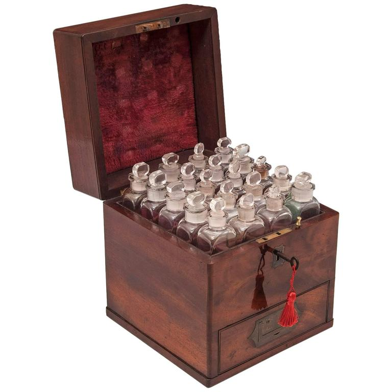 Antique Apothecary Box At 1stdibs
