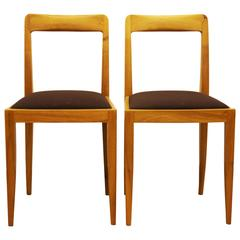 "Pair of Julius Jirasek Chairs for ""Werkstätten Hagenauer"""