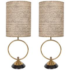 Pair of Early 20th Century Art Deco Table Lamps