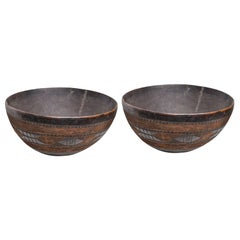 Berber Tuareg Old Wooden Bowl, Only One