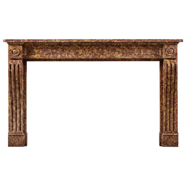 Antique French Chimneypiece of Louis XVI Style