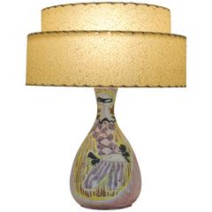 Petite Female Motif Table Lamp by Marcello Fantoni