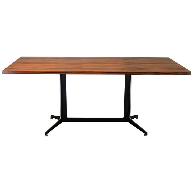 Ward Bennett Rosewood Table Desk for Lehigh circa 1960 at  : 3290812l from www.1stdibs.com size 768 x 768 jpeg 13kB