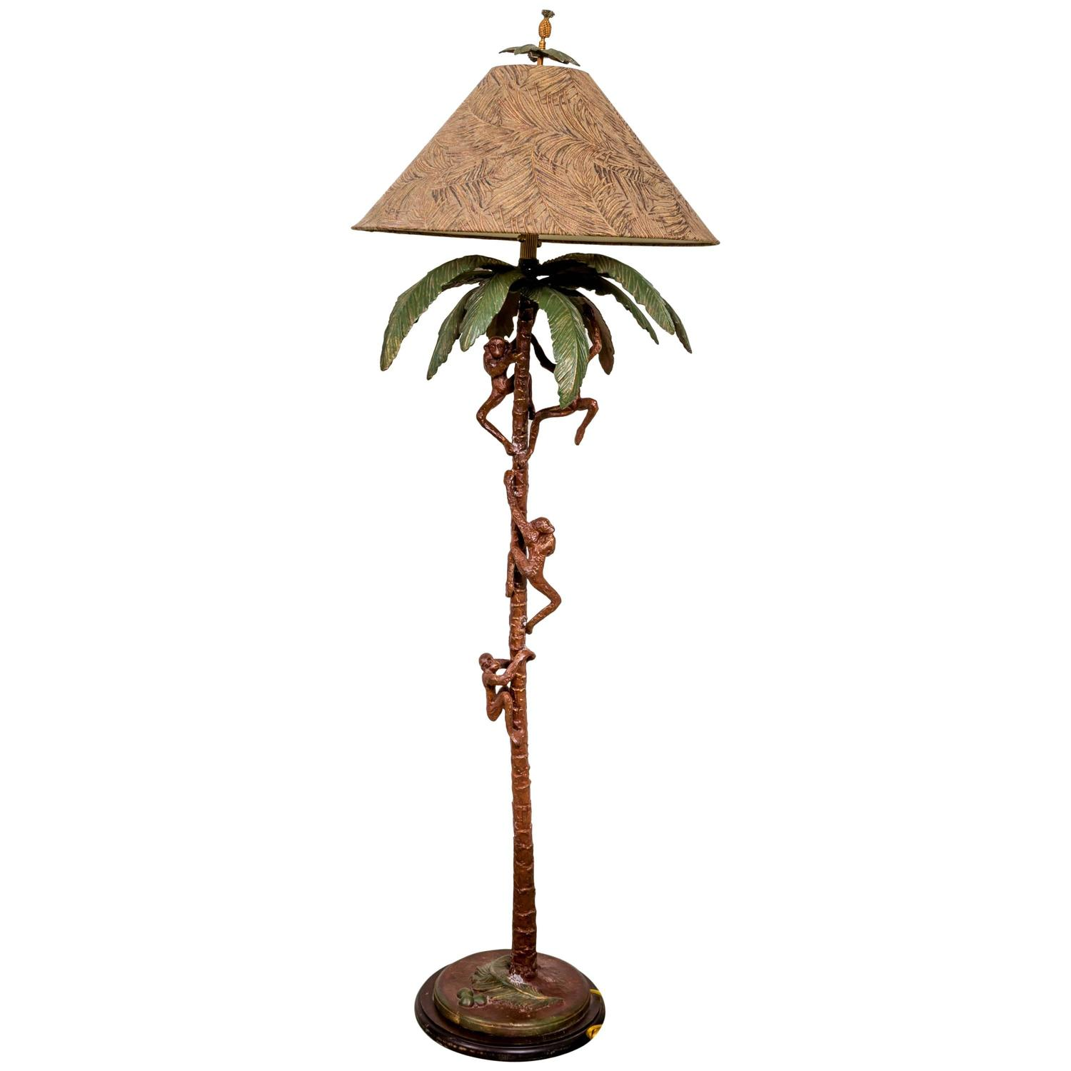 Monkey floor lamp by frederick cooper at 1stdibs mozeypictures