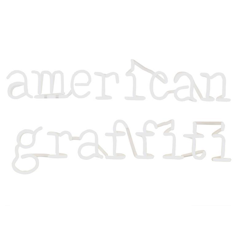"Peter Buchman ""American Graffiti"" Neon, 2015 1"