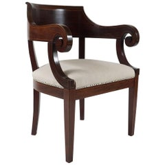 Classical American Library Armchair
