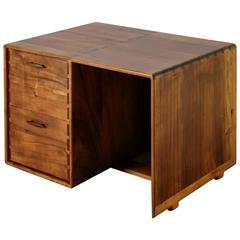 Jim Sweeney Studio Craft Wooden Desk, USA, 1970s