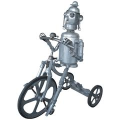 Robot Riding an Aluminum Tricycle