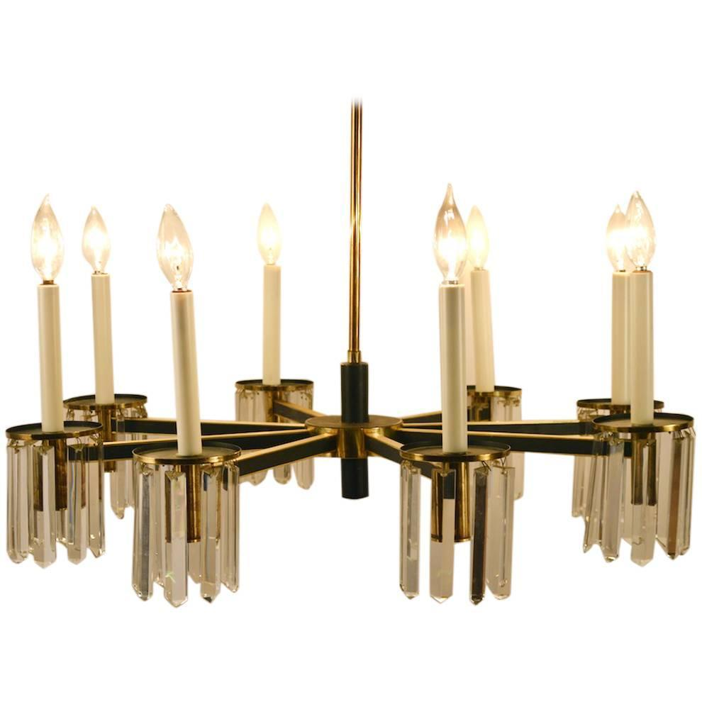 eight light candle style chandelier at 1stdibs