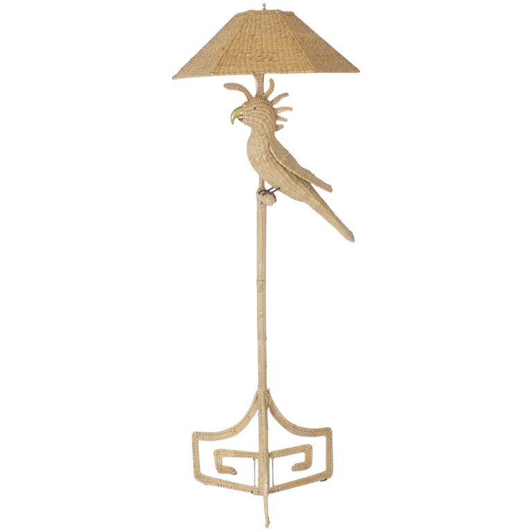 Mario Torres Cockatoo Floor Lamp 1