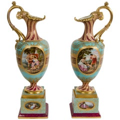 Pair of 19th Century Porcelain Vases