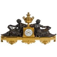 19th Century Mantel Clock by Deniere