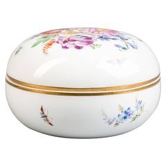 German Porcelain Box, Meissen, circa 1880