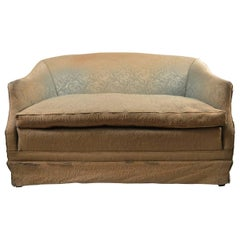 Deco Loveseat Sofa, Needs Reupholstery