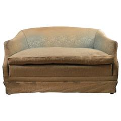 Deco Loveseat Sofa, Needs Reupholstery