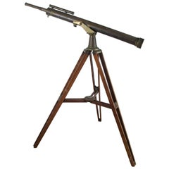19th Century Brass Telescope Made by Watson & Sons