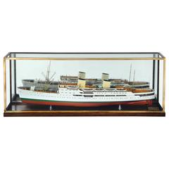 1:96 Scale, Builder's Model of M/S 'Venus', 1947