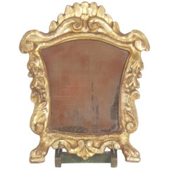 Carved and Gilt Frame with Easel