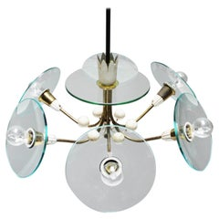 Chandelier in the Style of Pietro Chiesa, Italy