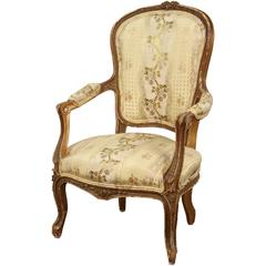 French Parcel Gilt Louis XV Style Child's Chair